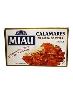 Calamares en salsa de...