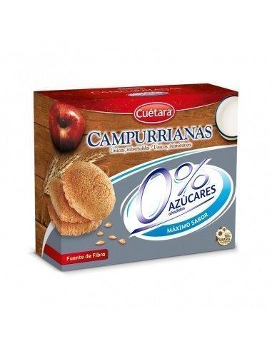 Campurrianas Cuétara 0% azúcar 500gr.