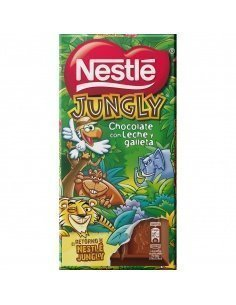 Nestlé Jungly chocolate con...