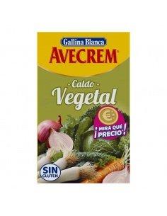Avecrem caldo vegetal.