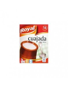 Cuajada Royal 16 raciones.
