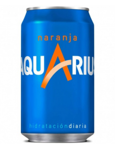 Aquarius naranja 330ml.