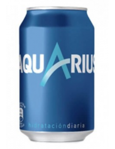 Aquarius limón 330ml.