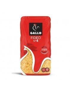 Fideo 4 GALLO paquete 450 grs.